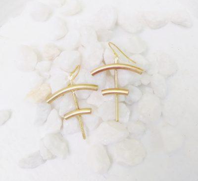Tiered Earrings
