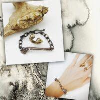 Found Bone Bracelet