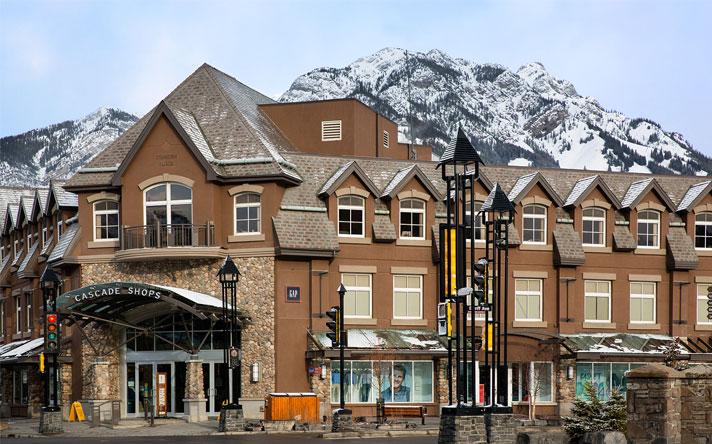 Cascade Shops Banff Alberta Canada