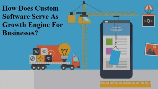 How Does Custom Software Serve As Growth Engine For Businesses?