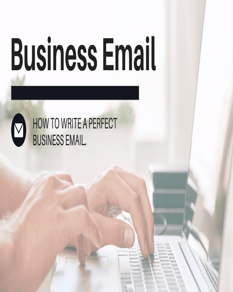 How Do You Write a Professional Email?