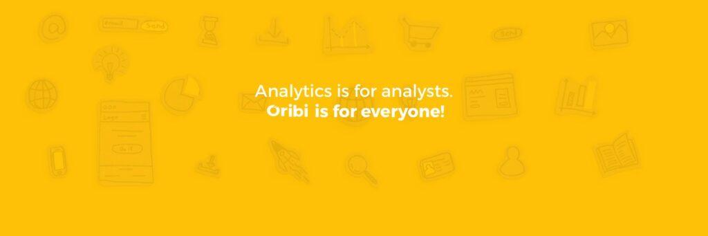 A new approach to web analytics - Oribi