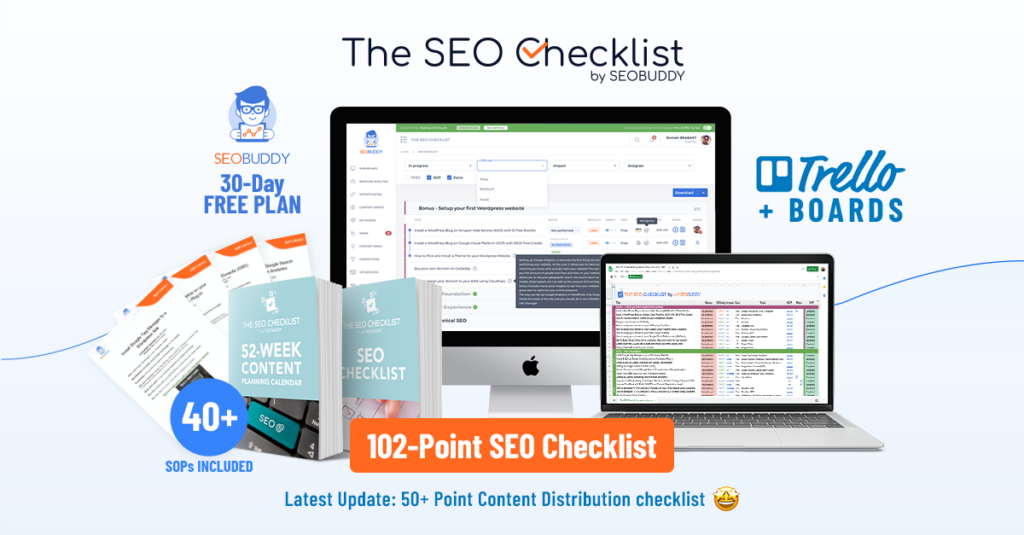 Get 25% Off The SEO Checklist