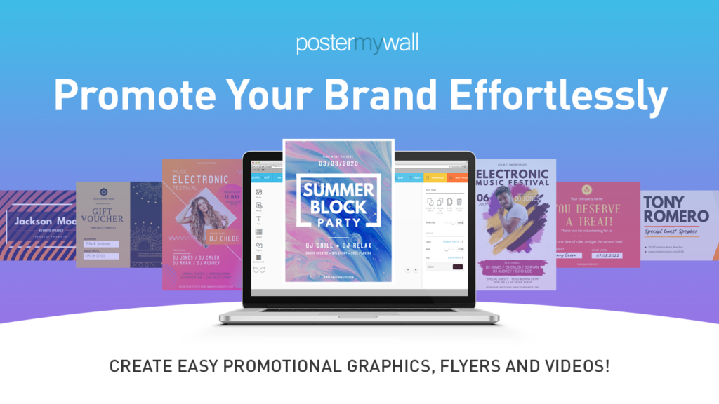 Save 10% on PosterMyWall's Premium Design Services