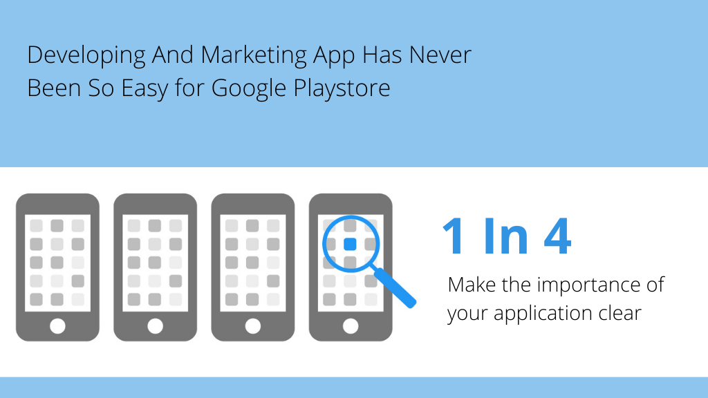 Developing And Marketing App Has Never Been So Easy for Google Playstore
