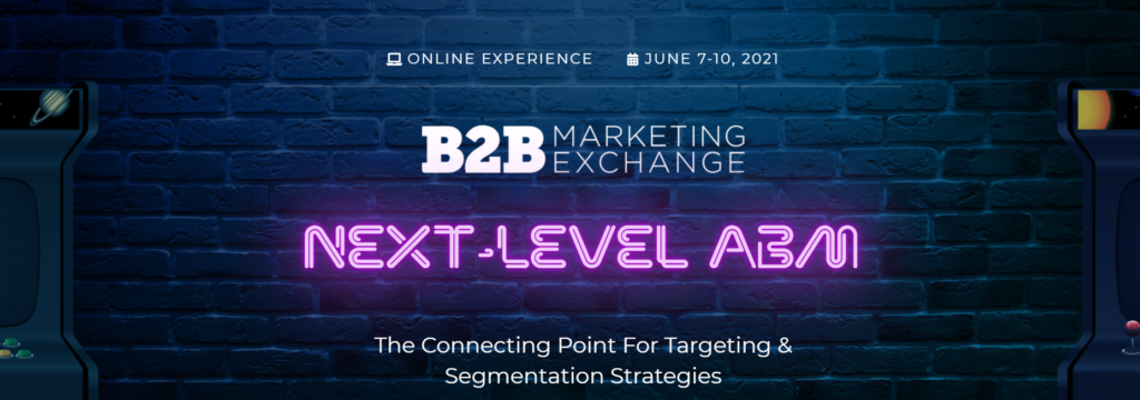 B2B Marketing Exchange 2021