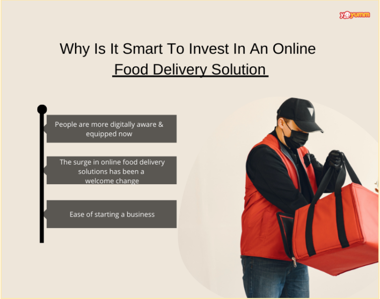Why Is It Smart To Invest In An Online Food Delivery Solution