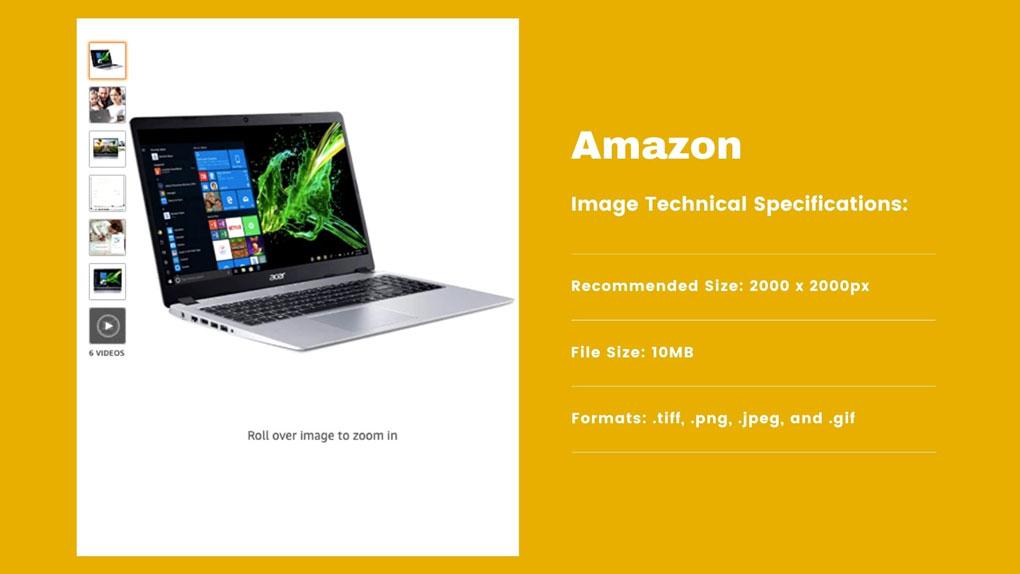 Amazon Product Image Guidelines