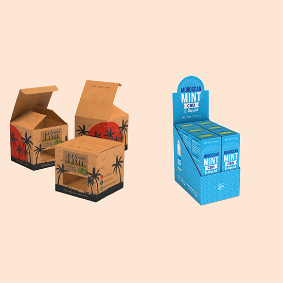Custom Cardboard Display Boxes- A Real Compliment to Your Products' Display