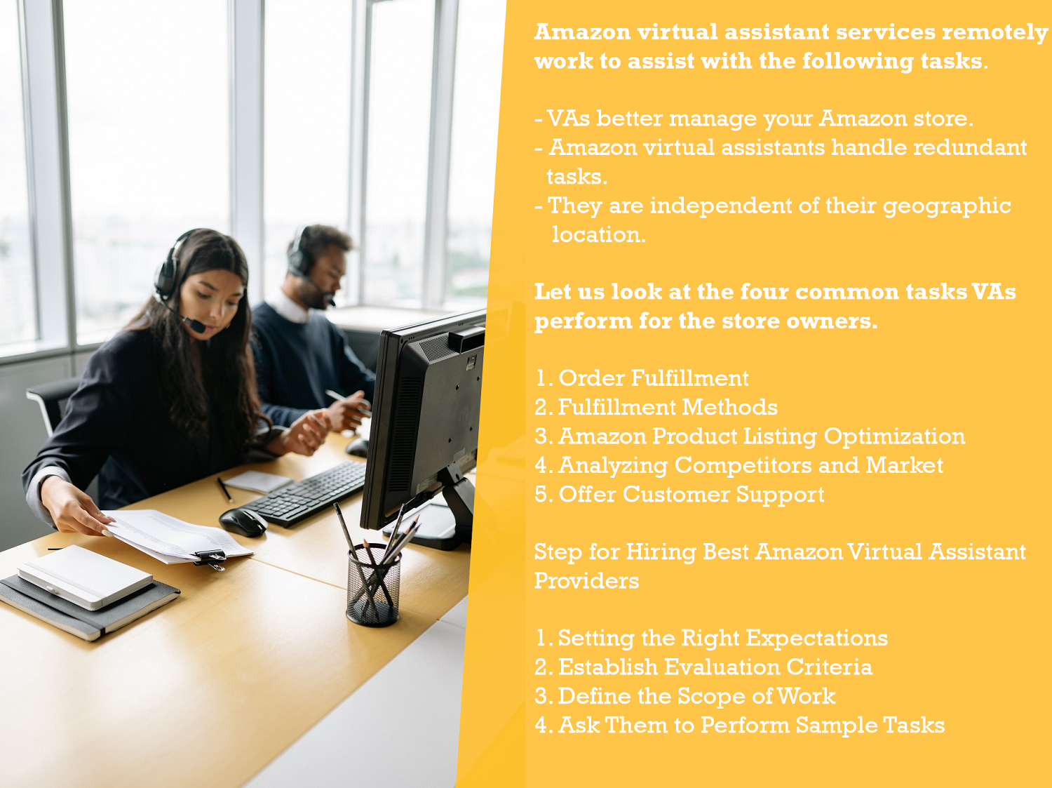 Introduction to Amazon Virtual Assistant Services