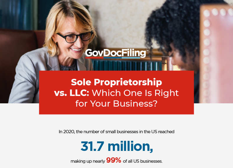 How Do Sole Proprietorships and LLCs Differ?