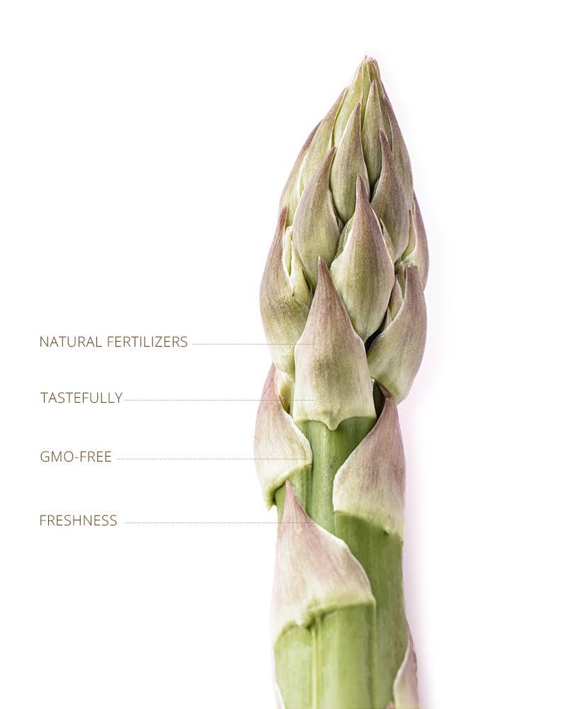Natural fertilizers, tastefully, GMO-Free, Freshness