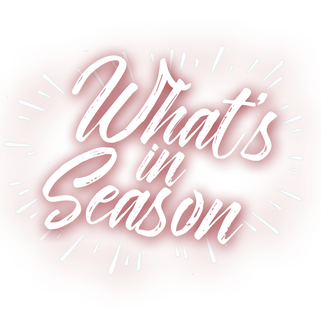 What's in season