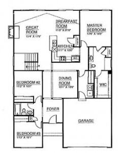 customized ranch house plan