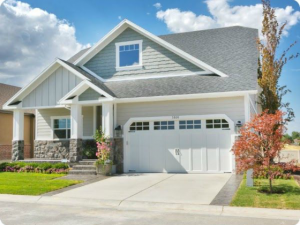 stylish craftsman home exterior