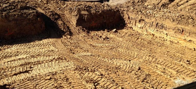 basement foundation hole
