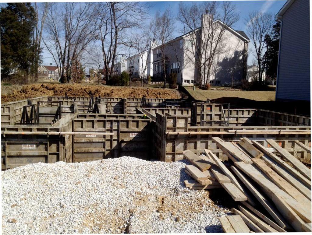concrete basement foundation forms