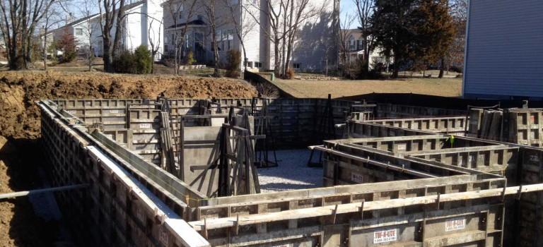 basement building forms