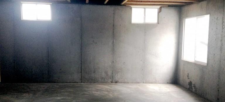 basement with egress window