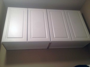 Lowe's white cabinets
