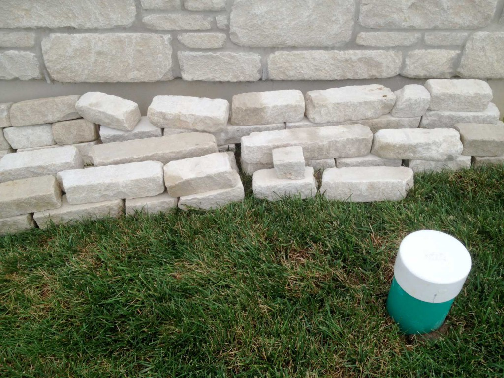 stone comparison to our house