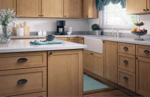 kitchen with oil rubbed bronze hardware
