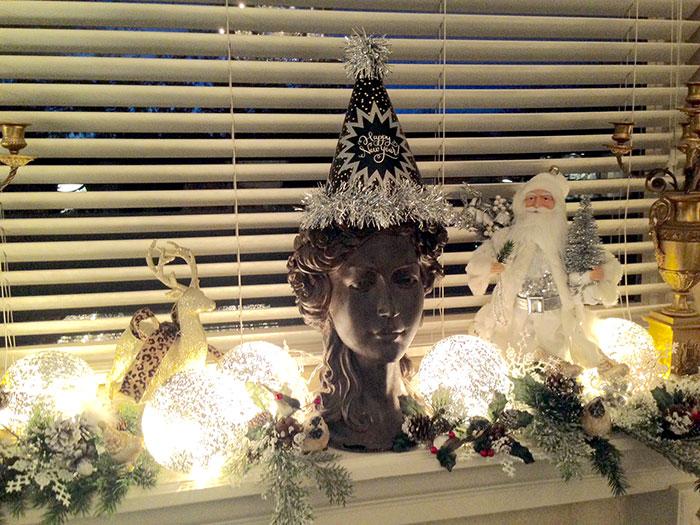 all holiday season mantle