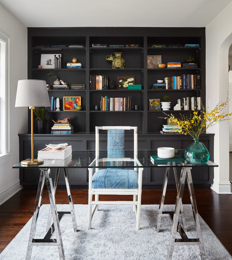sleek home office desk