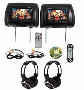 We Repair Rockville RDP711-BK Headrest DVD Players