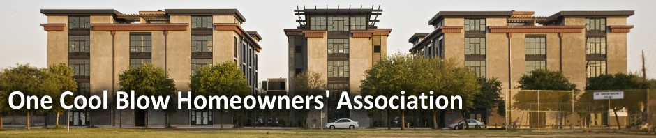 One Cool Blow Homeowners Association