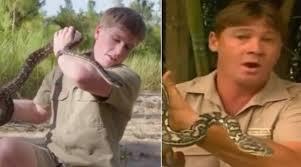 YouTube video: hijo de Steve Irwin 'Cazador de cocodrilos' fue ...