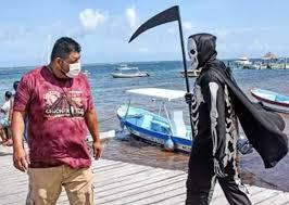 La muerte pide a turistas retirarse de playas de Quintana Roo por ...