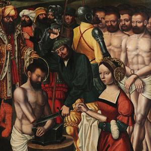 El martirio de San Adrián