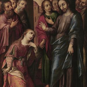 Magdalena frente a Jesús