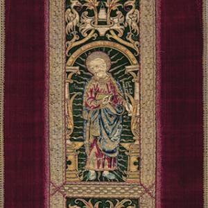 Virgen con el niño, San Pedro y San Pablo