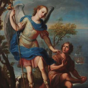 El Arcángel San Rafael y Tobías