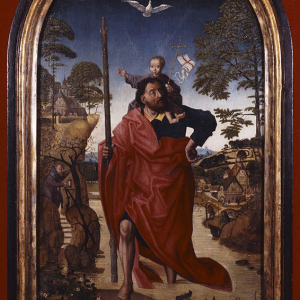 San Cristóbal con el Niño
