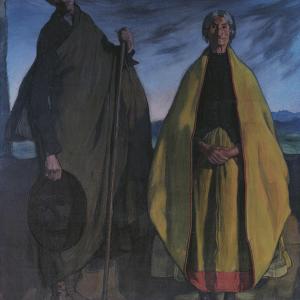 Francisco y su mujer
