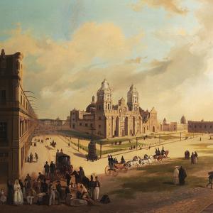 La Plaza Mayor de la ciudad de México