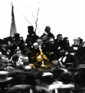 Abraham Lincoln in Gettysburg