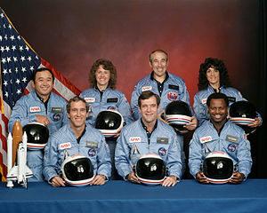 Challenger flight 51-l crew