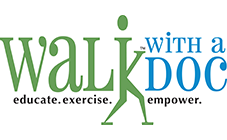 Breathe LA - Archived Programs - Walk With A Doc Logo