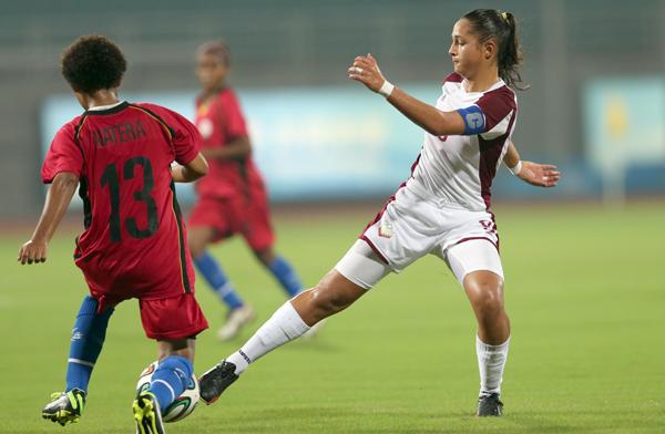 Venezuela avanza a las semifinales en Nanjing