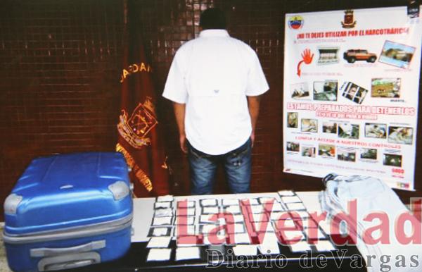 Capturan a maracucho con 12  pantalones repletos de cocaína