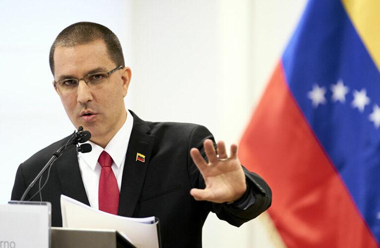 """Arreaza: """"La defensa de Alex Saab está en manos de su equipo legal, Venezuela solo brinda apoyo"""""""