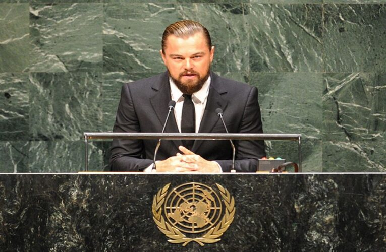 Leonardo DiCaprio se pronuncia por la crisis de agua en Venezuela