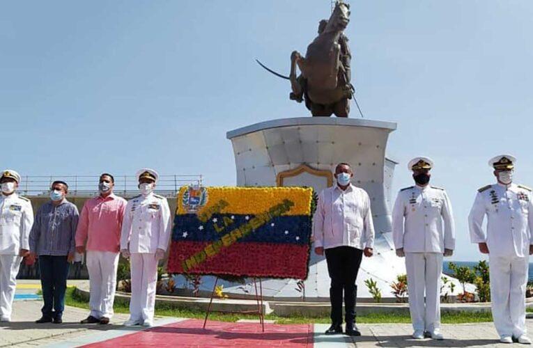 La Guaira conmemoró   el Día de la Independencia