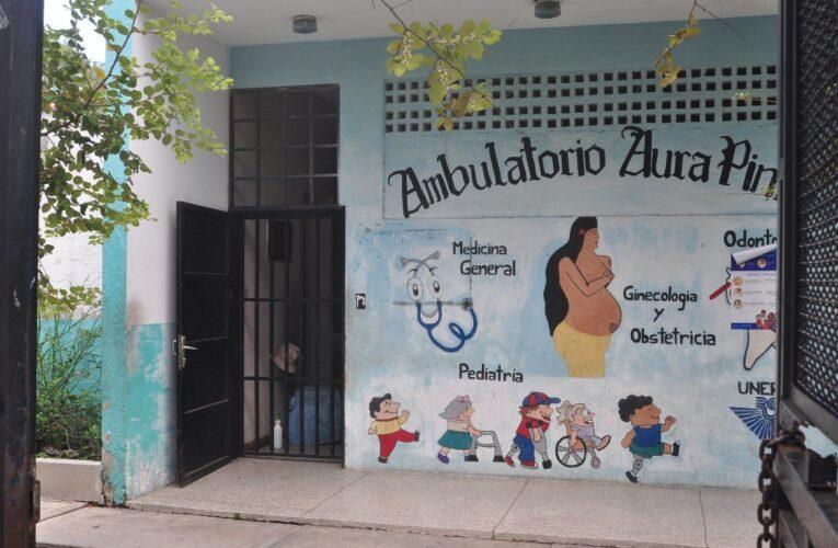 En el Aura Pinto ha bajado la afluencia de pacientes