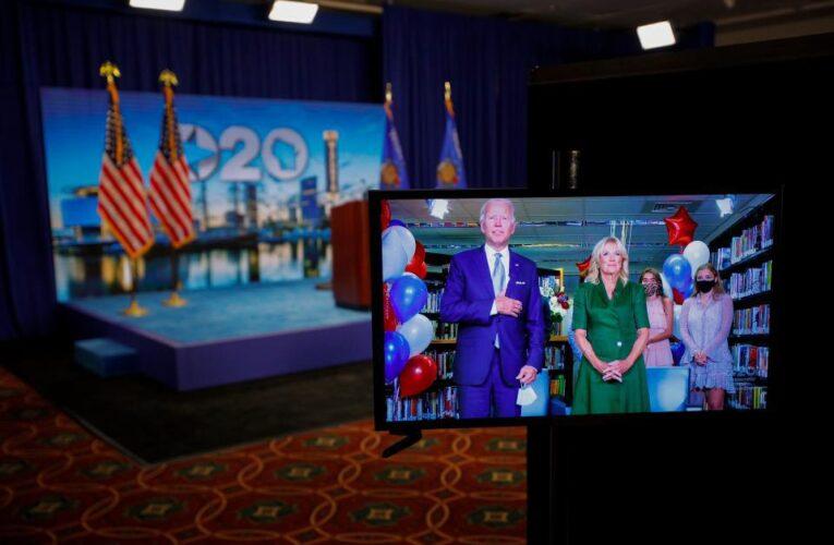 Joe Biden ya es oficialmente el candidato demócrata en EEUU