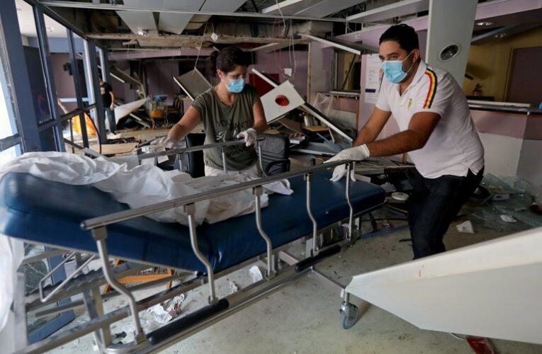 OMS: Más de la mitad de los hospitales de Beirut no funcionan